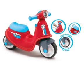 Motorolleris Smoby Scooter Ride-on Red