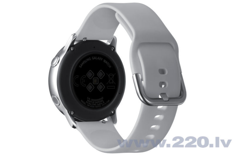 Samsung Galaxy Watch Active, Sudrabains