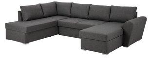 Mīksts stūra dīvāns Stanford Lux, pelēks