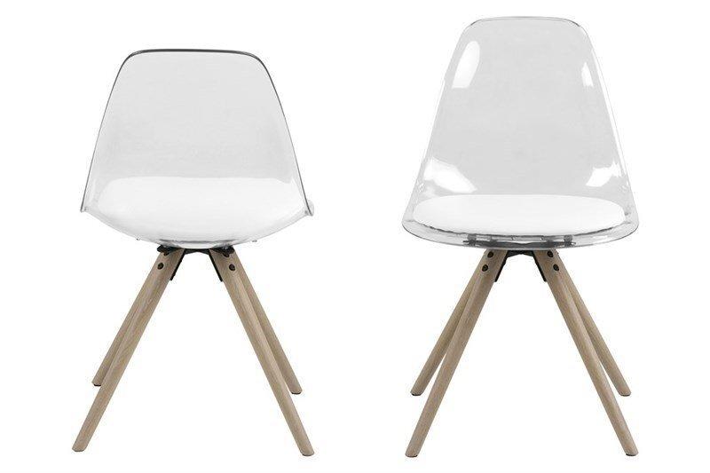 Комплект из 4-х стульев Henning, белый