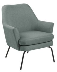 Krēsls Chisa, zaļš/melns