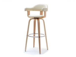 Bara krēsls Hoker 37, krēmkrāsas/ozola krāsas