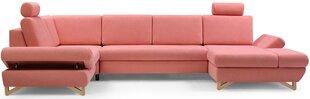 Stūra dīvāns Avesta IV, rozā