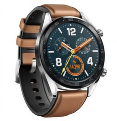 Huawei Watch GT, Black/Brown цена и информация | Смарт-часы (smartwatch) | 220.lv