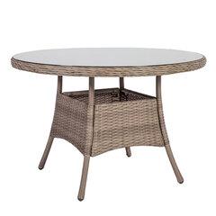 Āra galds Toscana, 73x110 cm, brūns