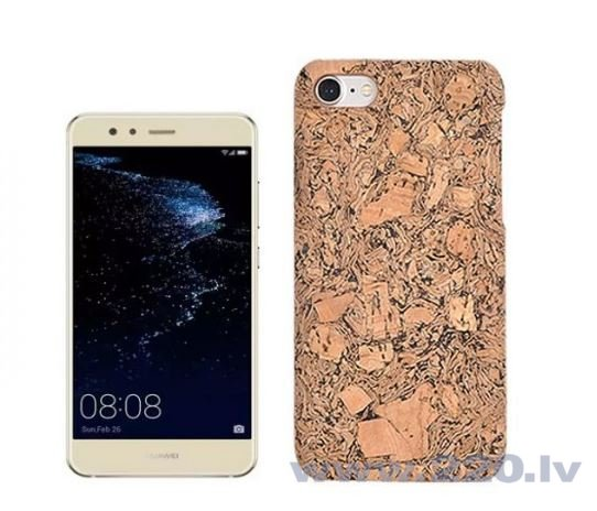 Blun Real cork Ultra Slim Back Cover case for Huawei P10 Lite;15184