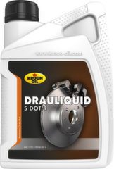 Bremžu šķidrums KROON-OIL DRAULIQUID-S DOT 4, 1000 ml