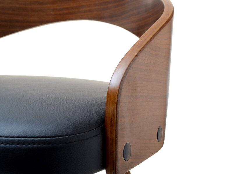 Барный стул Hoker 38, коричневый/черный