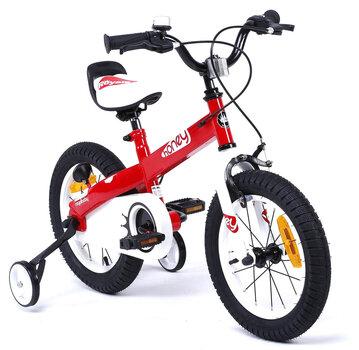 "Bērnu velosipēds ROYALBABY ""Honey 16"" sarkans cena un informācija | Bērnu velosipēdi | 220.lv"