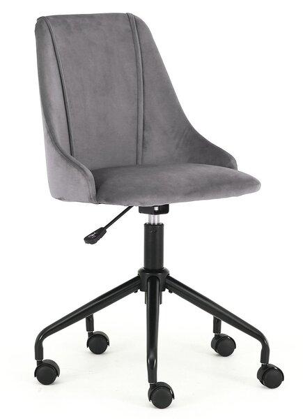 Biroja krēsls Break, pelēks/melns