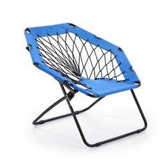 Krēsls Widget, zils/melns