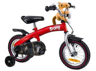 """Bērnu velosipēds ROYALBABY """"Pony"""" sarkans"""