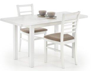 Galds Dinner, balts cena un informācija | Virtuves un pusdienu galdi | 220.lv