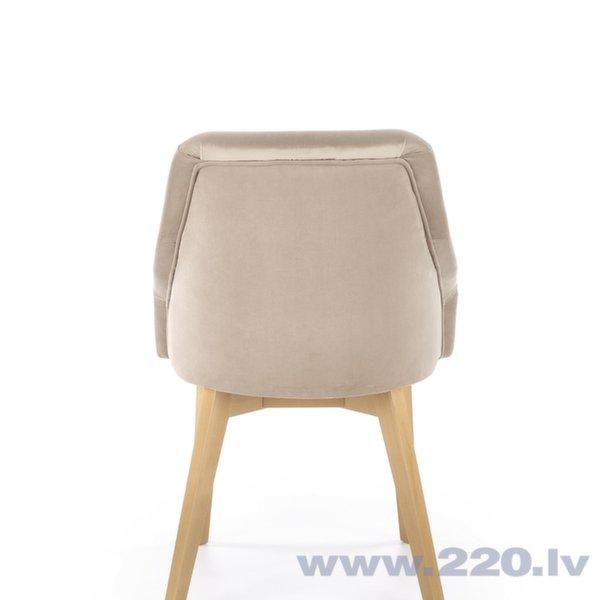 Стул Halmar Toledo 2, кремовый/цвет дуба