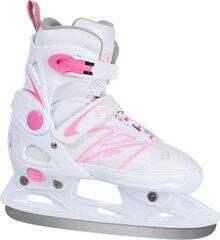 Hokeja slidas Nils Extreme NH2253, baltas/rozā