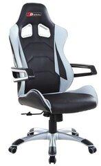 Spēļu krēsls Veyron, melns/pelēks