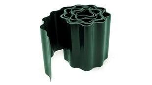 Zāliena šķērssiena 10 cm x 9 m (zaļa) цена и информация | Заборы и принадлежности к ним | 220.lv