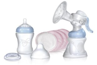 Rokas krūts piena pumpis Nuby Natural Touch Confort Manual Breast