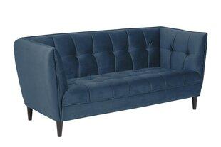 Dīvāns Jonna, zils cena un informācija | Dīvāni | 220.lv