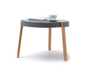 Kafijas galdiņš Twist, pelēks