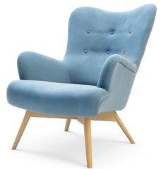 Krēsls Zele, gaiši zils