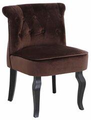 Кресло Brittany Velvet, коричневое цена и информация | Кресло Brittany Velvet, коричневое | 220.lv