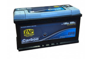 ZAP Carbon EFB 100Ah 800A akumulators