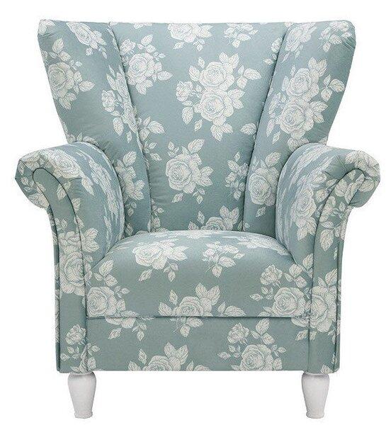 Krēsls Strawinsky II, zaļš/pelēks