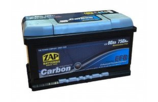 ZAP Carbon EFB 80Ah 750A akumulators