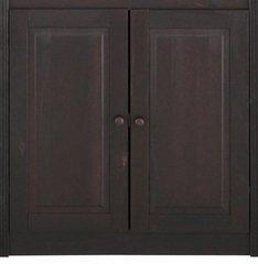 Durvju komplekts skapim Bailey 62,5, tumši brūns