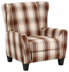 Atzveltnes krēsls Aladdin, brūns cena un informācija | Krēsli viesistabai | 220.lv