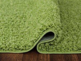 Paklājs Shaggy Pistacia, zaļš, 160 x 220 cm