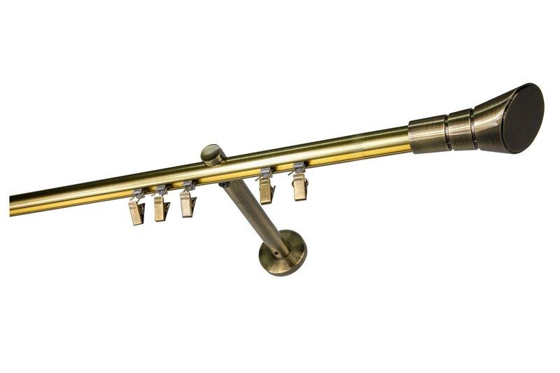 Vienrindas karnīze OLIMP, 250 cm cena un informācija | Aizkaru stangas, karnīzes | 220.lv