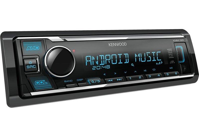Kenwood KMM-125 cena un informācija | Auto magnetolas | 220.lv