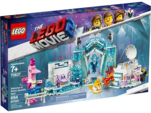70837 LEGO® Movie 2 Shimmer & Shine mirdzošais SPA