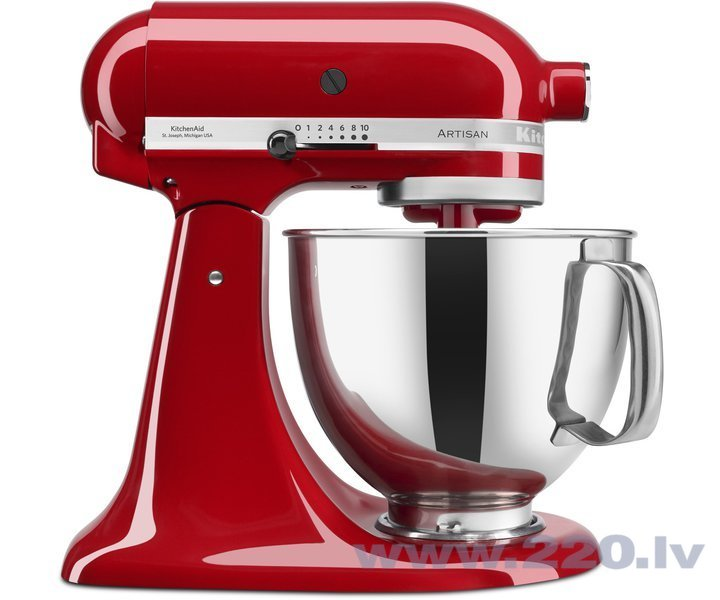 KitchenAid 5KSM125EER, sarkans