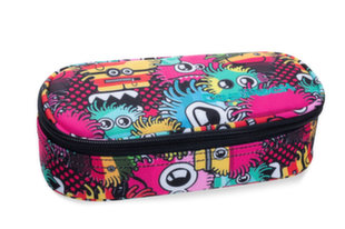 Penālis CoolPack Campus Wiggly Eyes Pink B62047