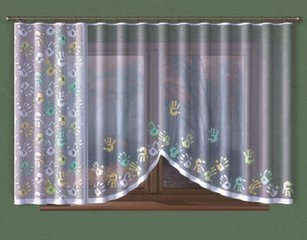 Aizkari Rokas, 230x150 cm cena un informācija | Aizkari | 220.lv