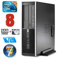 HP 8100 Elite SFF i5-650 8GB 240SSD+2TB DVD WIN7Pro