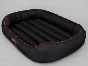 Hobbydog guļvieta Oval XL, melna ar apmali