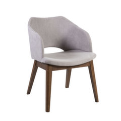 2-u krēslu komplekts Salute, pelēks