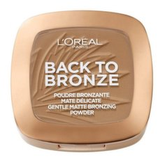 Bronzeris L'Oreal Paris Back To Bronze Gentle Matte 9 g, 02 Sunkiss