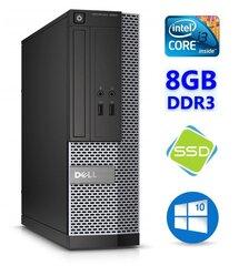 Dell 3020 SFF i3-4130 8GB 120SSD DVDRW WIN10Pro cena un informācija | Dell 3020 SFF i3-4130 8GB 120SSD DVDRW WIN10Pro | 220.lv