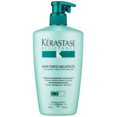 Stiprinošs matu šampūns Kerastase Resistance Bain Force Architecte 500 ml