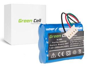 Green Cell Akumulators piemērots iRobot Braava / Mint 380 380T 5200 5200B 5200C Plus 7.2V 2.5Ah cena un informācija | Akumulatori putekļu sūcējiem | 220.lv
