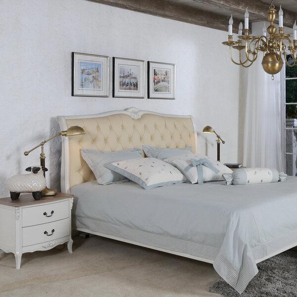 Кровать Elizabeth, 180 x 200 см, белая