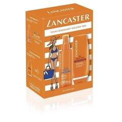 Komplekts Lancaster Sun Beauty: izsmidzināms aizsargājošs no saules ķermeņa pieniņš 150 ml + mitrinošs līdzeklis pēc sauļošanās 120 ml