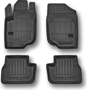 3D резиновые коврики Audi A6 C7 2011-настоящее время цена и информация | Модельные резиновые коврики | 220.lv