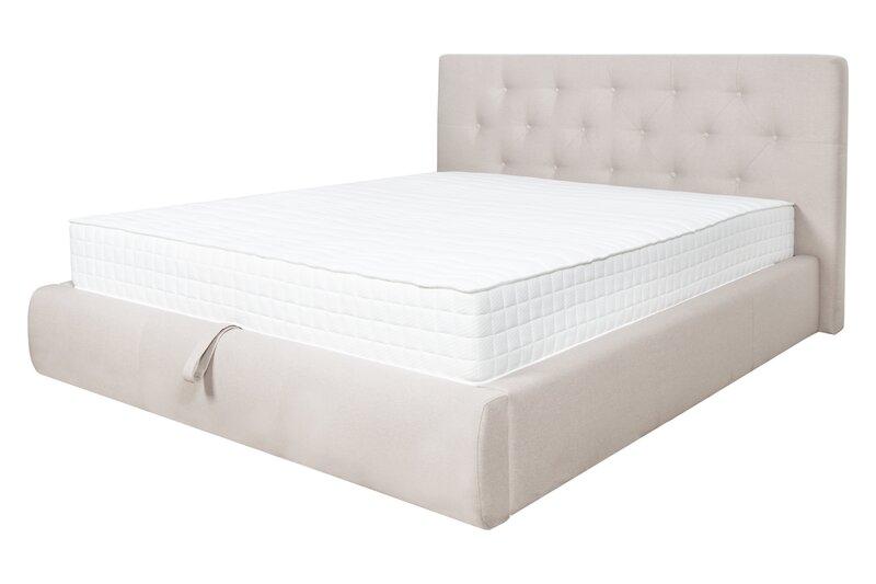 Кровать Clarissa, 160х200 см, песочного цвета