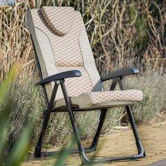 Krēsls Patio Mijas L116-05PB, smilšu krāsas cena un informācija | Dārza krēsli | 220.lv